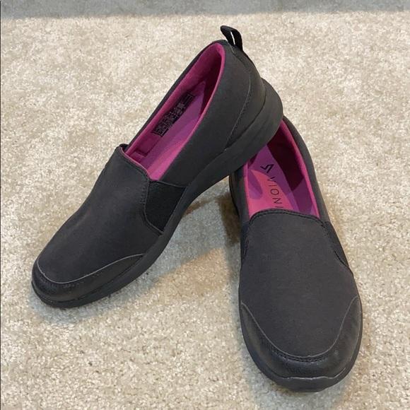 Vionic Shoes   Black Amory Slipon